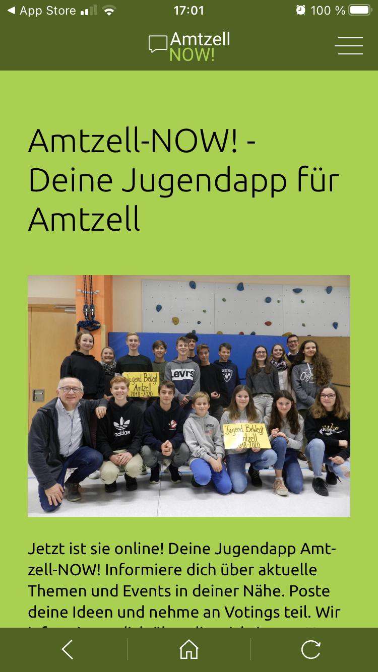 Jugendbeteiligungs-App in Amtzell