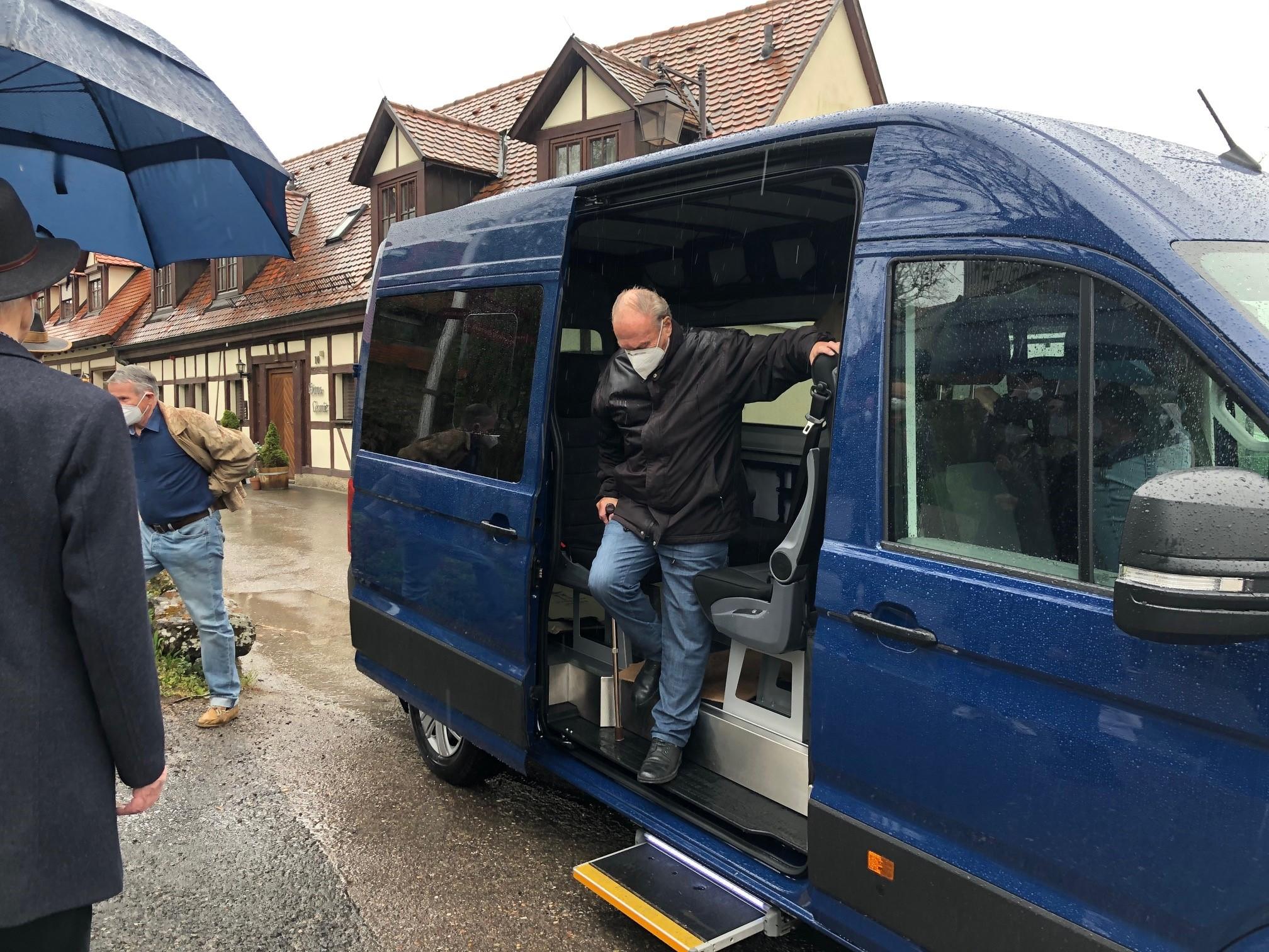 Autonomer Bürgerbus wird von den Künzelsauern erstmalig getestet