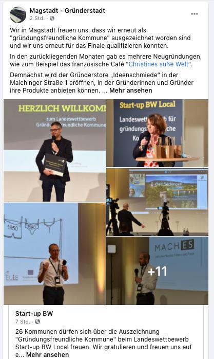 """Magstadt ist """"Gründerfreundliche Kommune"""""""