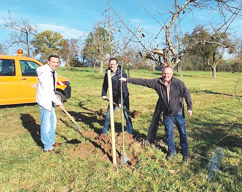 Baumpflanzaktion in Nürtingen