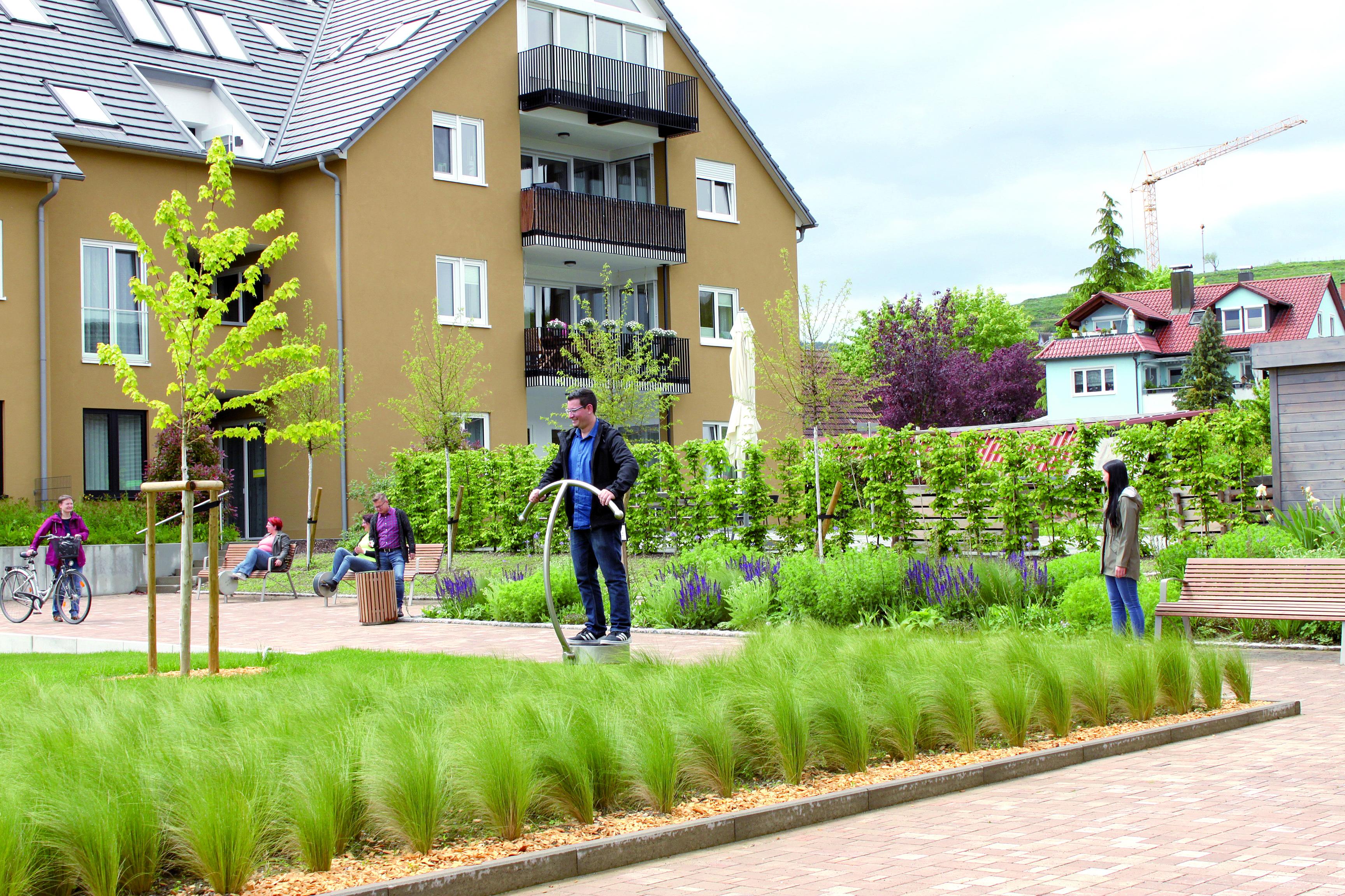 Generationenpark aus Gemeindeentwicklungskonzept