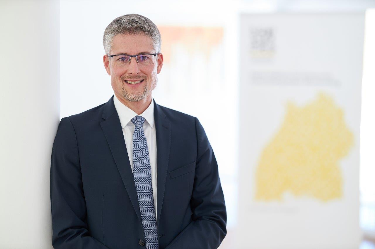 Steffen Jäger über die Baumpflanzaktion des Gemeindetags Baden-Württemberg