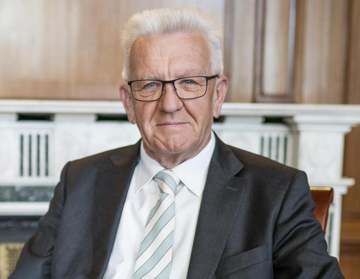 Winfried Kretschmann über das baden-württembergische Landesgrundsteuergesetz. (c)Dennis Williamson