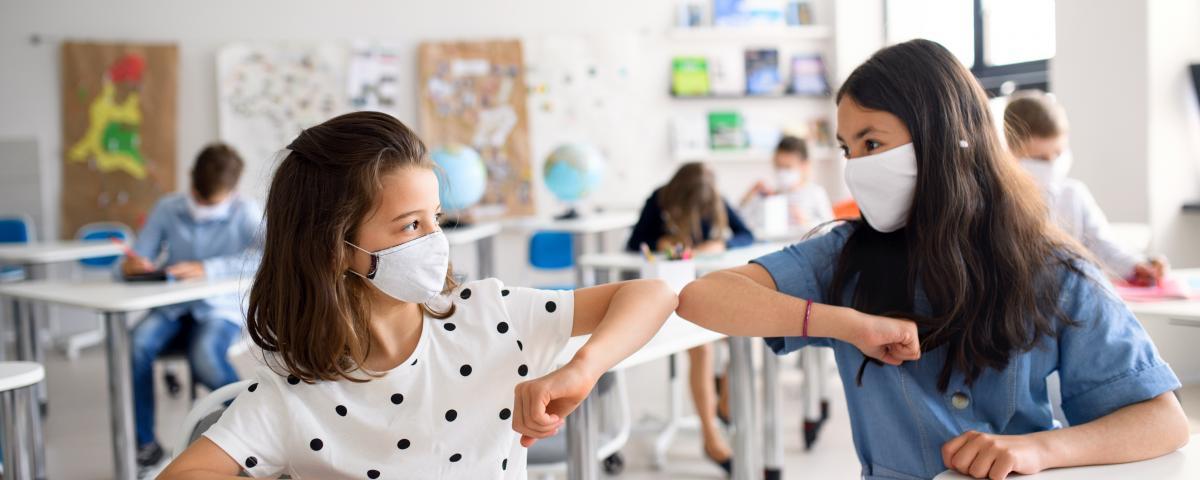 Wird die Teststrategie in der Schule Covid-19-Ausbrüche verhindern?