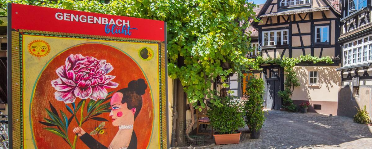 """""""Gengenbach blüht"""" ist Teil des 10-Punkte-Plans, der zur Belebung von Einzelhandel und Gastronomie beitragen soll."""