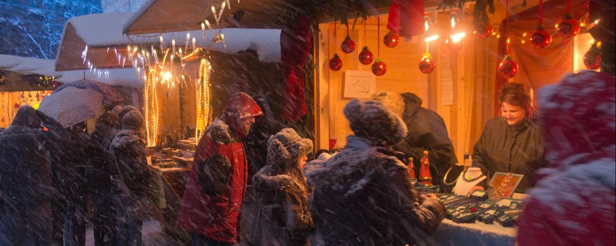 Der Weihnachtsmarkt in der Ravennaschlucht soll auch in diesem Jahr stattfinden.