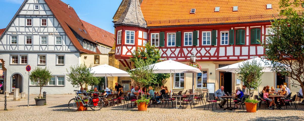 Barrierefreie und lebenswerte Ortsmitten - wie hier in Öhringen?