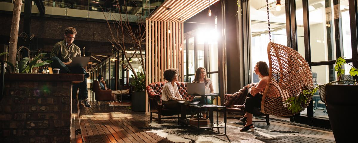 """Auch Coworking-Spaces sollen Teil von """"Junges Wohnen"""" sein"""
