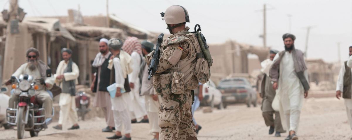Bundeswehrsoldat in Afghanistan