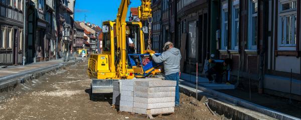 Besonders zur Sanierung der Ortskerne wird die Städtebauförderung häufig genutzt.