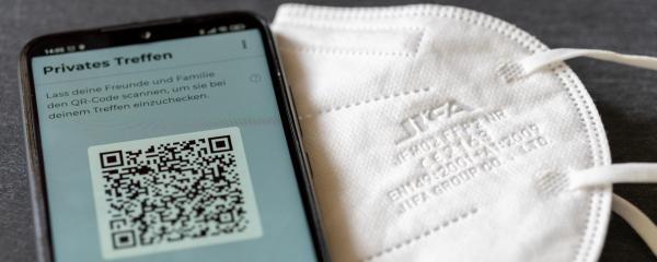 Luca-App soll durch gute Kontaktnachverfolgung helfen, gesellschaftliches Leben aufrecht zu erhalten.