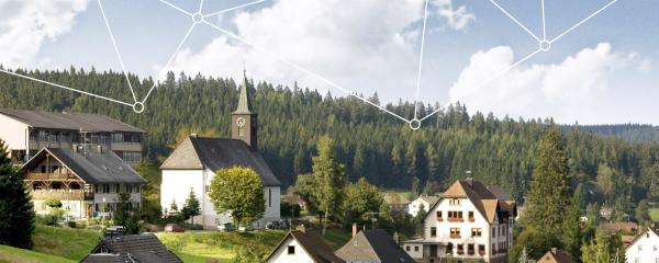 Eisenbach wird im Projekt SmartLand zum modernen digitalen Dorf transformiert.