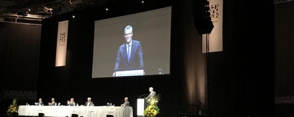 Steffen Jäger auf der Mitgliederversammlung des Gemeindetags Baden-Württemberg