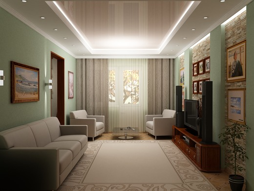 4-кімнатна квартираподобово в Одесі. вул. Глушка, 11. Фото 1