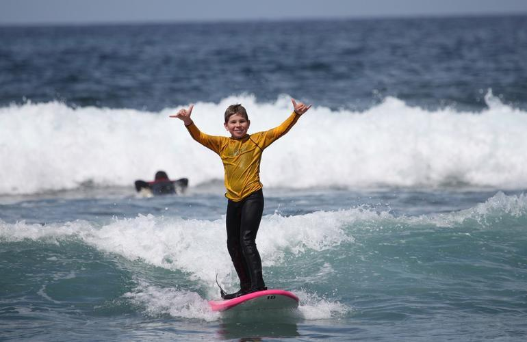 Surfing classes for children in Kuta Utara, Bali (from 5 to 8 years)