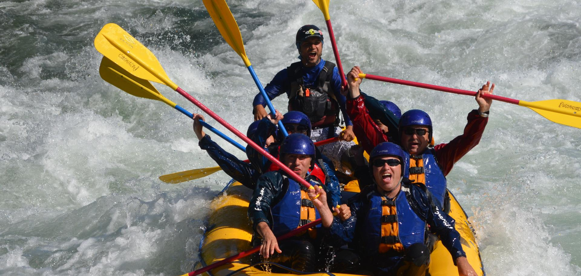 6-hours Bali White River Rafting with Buffet Lunch