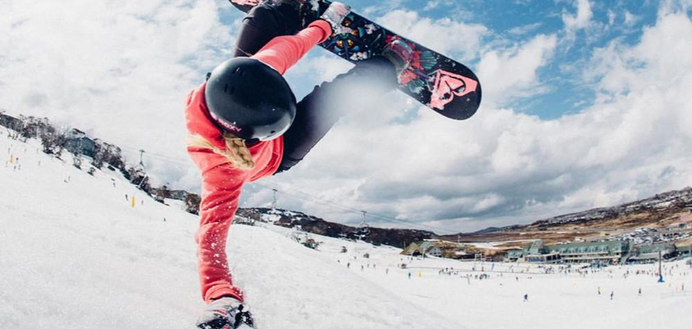 The lessons of snowboarding for advanced ride in Vail Resorts, Colorado