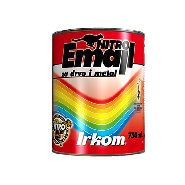 Slika NITRO EMAJL IRKOM 0.75 L BELI