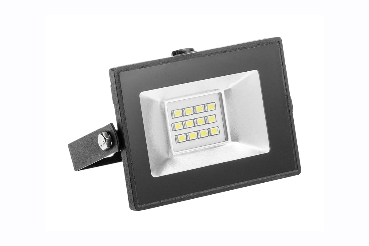 Slika LED G-TECH CRNI 10W  6400K 700LM IP65