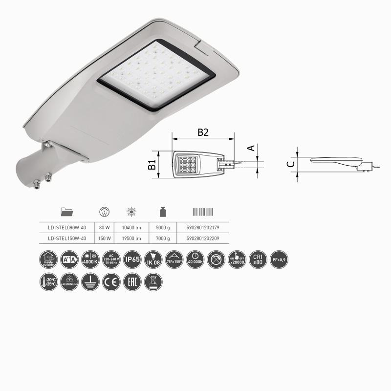Slika LED ULIČNI REFLEKTOR   80W
