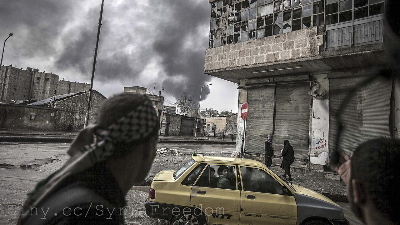 حلب, سوريا, الجيش الحر, الثورة السورية