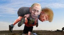 دونالد ترامب, فلاديمير بوتين, الولايات المتحدة الأمريكية, روسيا