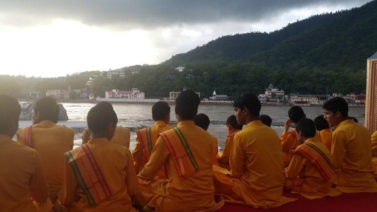 مجموعة من الحجاج الهندوس