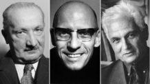 جاك دريدا, ميشيل فوكو, مارتن هايدجر, الحداثة, ما بعد الحداثة, فلسفة