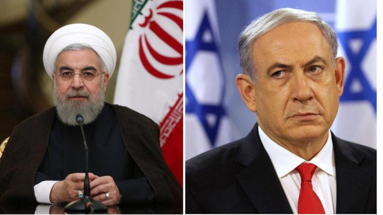 حسن روحاني، بنيامين نتنياهو، إيران، إسرائيل