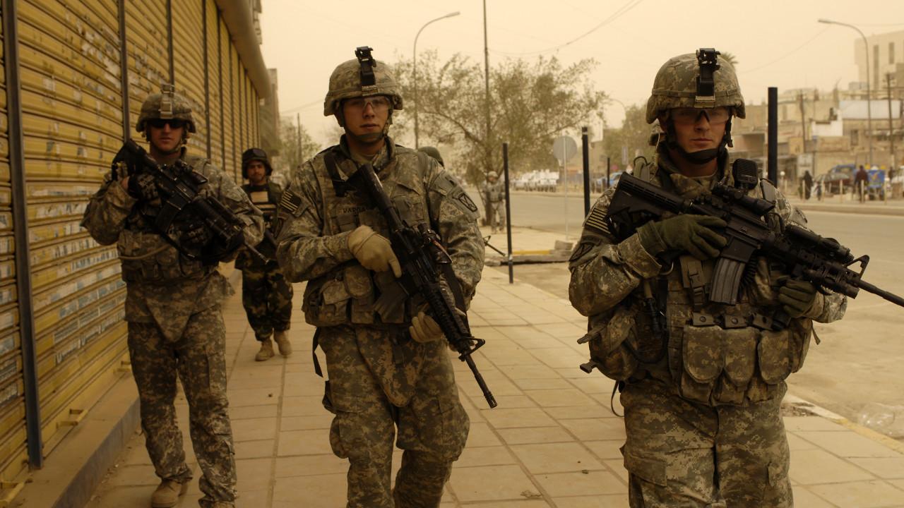 العراق، الولايات المتحدة الأمريكية، جيش، جنود