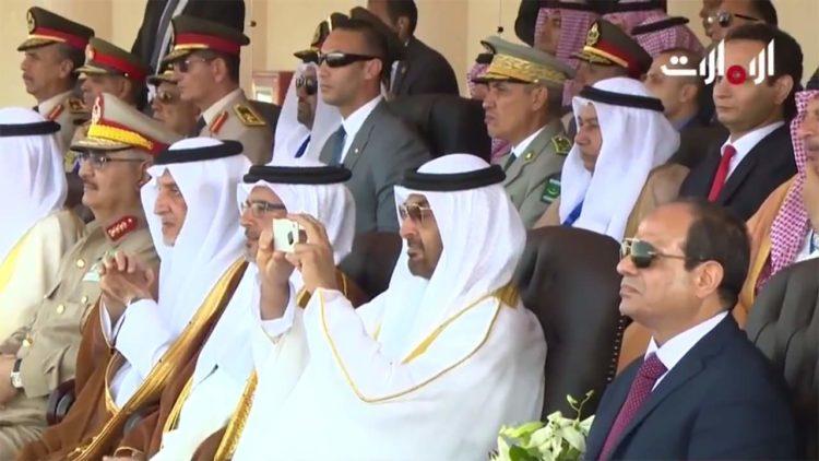 محمد بن زايد، عبدالفتاح السيسي