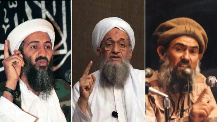 عبد الله عزام، أيمن الظواهري، أسامة بن لادن، تنظيم القاعدة، أفغانستان، جهاديون