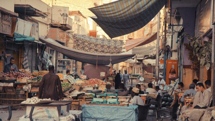 أسوان، مصر، سوق، اقتصاد