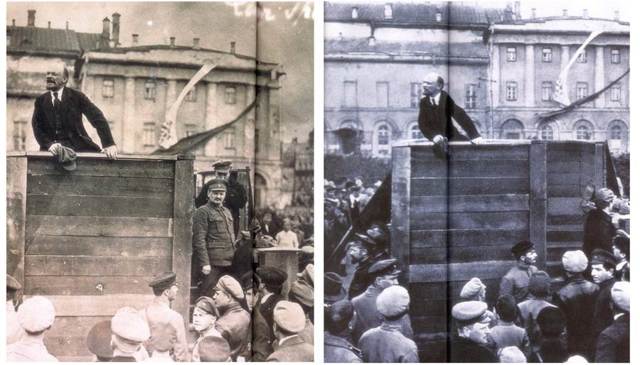 فلاديمير لينين، ليون تروتسكي، الثورة البلشفية، الاتحاد السوفيتي
