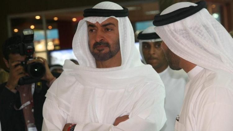 محمد بن زايد، الإمارات