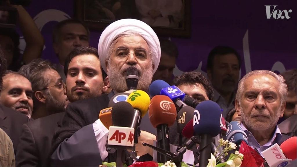 حسن روحاني، إيران