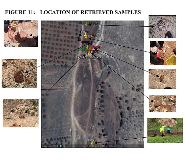سوريا, قصف قوات النظام السوري, أسلحة كيماوية, غاز السارين, مواقع القصف