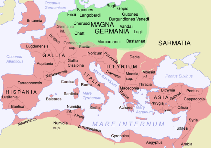 جيرمانيا ماجنا «يوليوس قيصر»