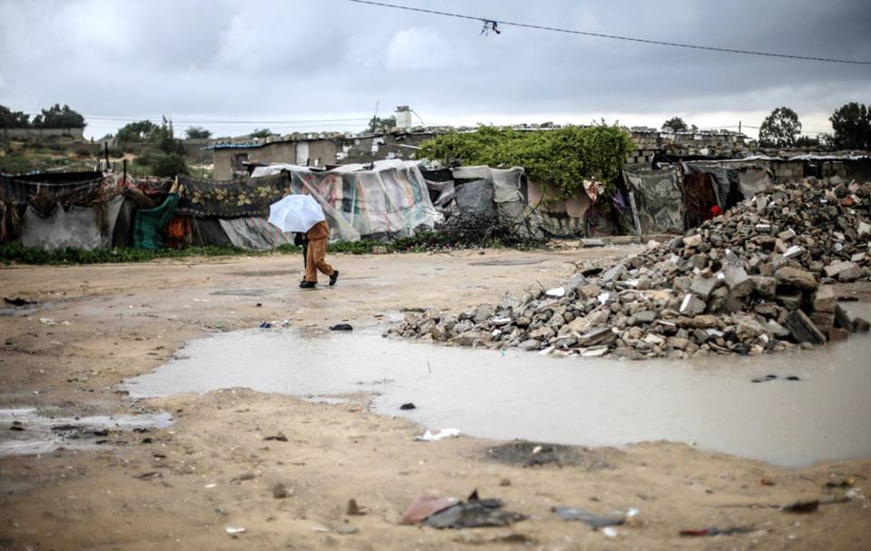 الفقر في غزة, مناطق فقيرة, فلسطين, مياه