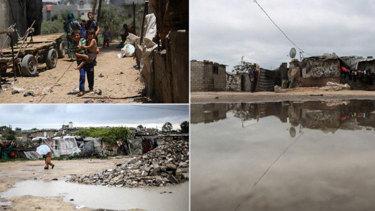 الفقر في غزة, فلسطين, مناطق فقيرة, غزة