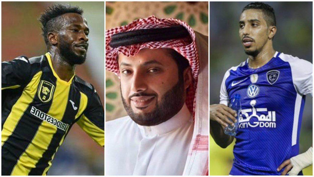 سالم الدوسري, فهد المولد, تركي آل الشيخ, السعودية