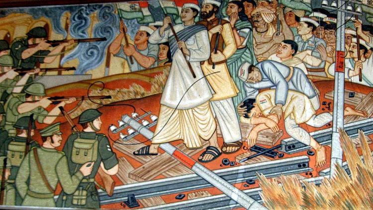 الهند، الاستعمار الإنجليزي
