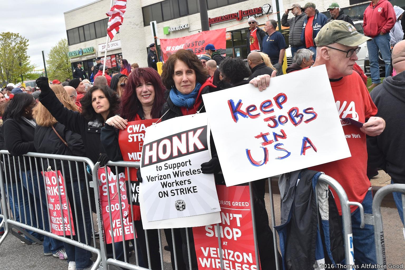 أمريكا, مظاهرات, احتجاجات, فرص العمل