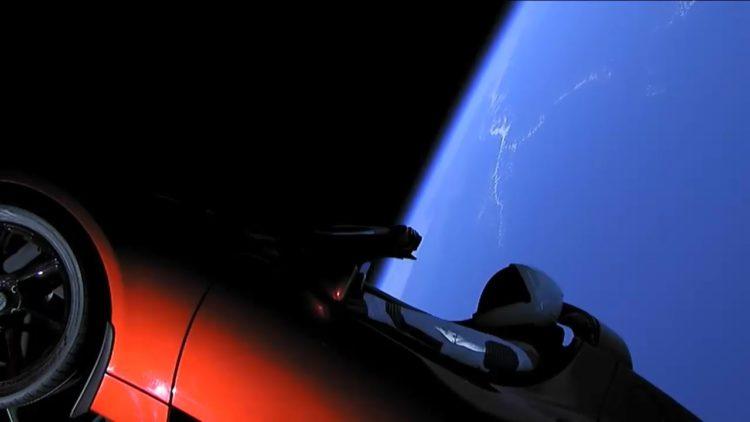 فالكون، spaceX، تسلا، فضاء، المريخ