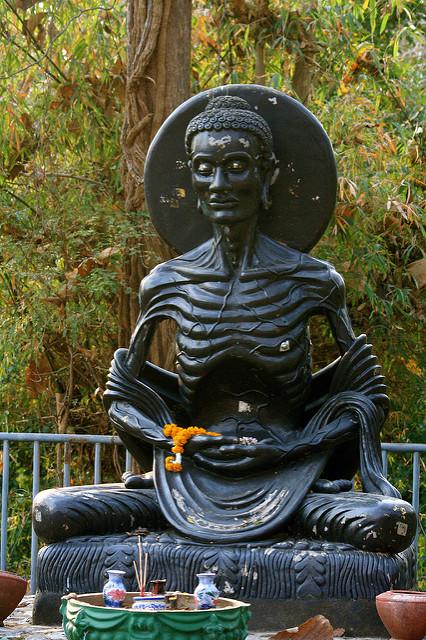 البوذية, تمثال جوتاما