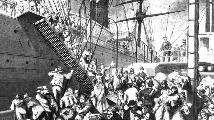 هجرة, ألمانيا, الولايات المتحدة الأمريكية