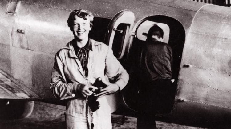 إميليا إيرهارت, الطيران, هندسة الطيران, شخصيات عالمية