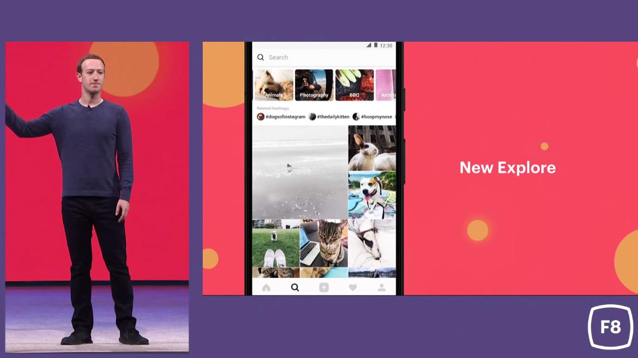 انستجرام, تحديثات فيسبوك, مارك زوكربيرج, مؤتمر فيسبوك