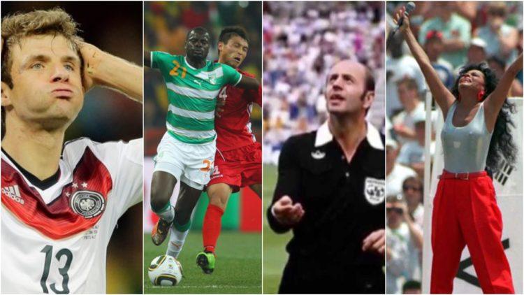 طرائف كأس العالم, ألمانيا, توماس مولر, الجزائر, فرنسا, مارادونا, الأرجنتين, الولايات المتحدة الأمريكية