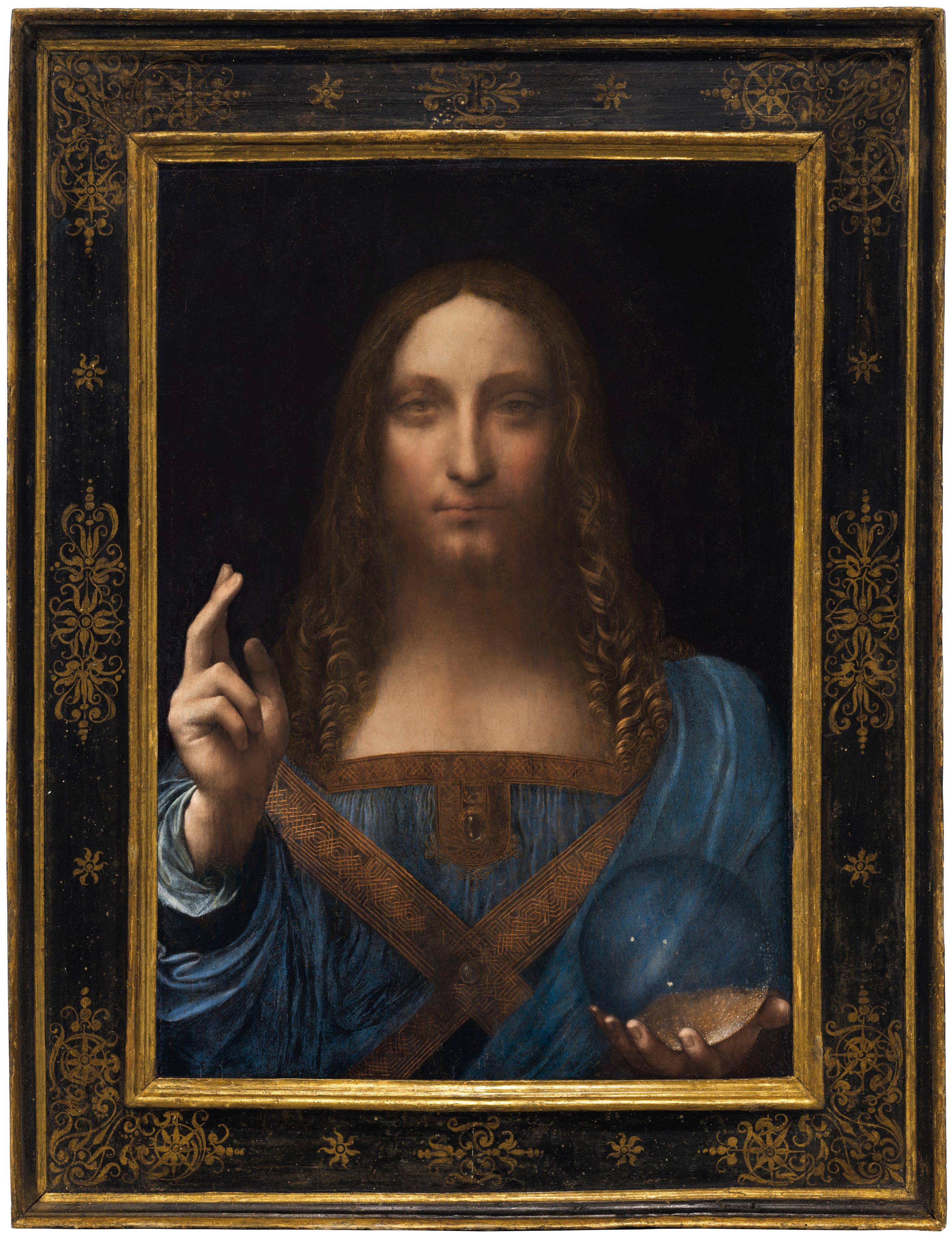 لوحة, سالفاتور موندي, ليوناردو دافنشي, فنون قديمة
